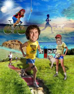 Scott Jurek's awesome article about learning to love running