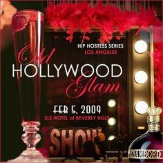 """Adventures of an Actress: """"Old Hollywood Glam"""" Oscar Viewing Party"""