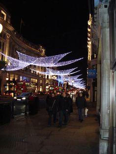 Christmas time at Regent St. London.