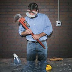 Dry Out a Flooded Basement - There's a science to this that I didn't know about - Wow. From 47 Skills You Need to Survive Homeownership by This Old House.  Check them all out.