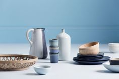 New Haymes Paint collection celebrates colourful neutrals - The Interiors Addict Wood Colors, Paint Colors, Colours, Neutral Kitchen, Latest Colour, Neutral Colour Palette, Grey Wood, Natural Materials, Pottery