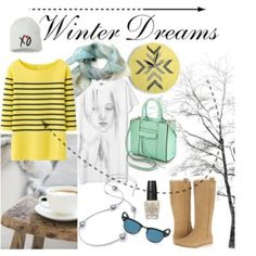 """""""Winter Dreams"""" by annawirejewelry on Polyvore Dreams, Winter, Polyvore, Image, Winter Time"""