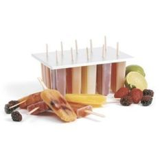 Cool summer treats that cure the urge to splurge! Lots of cool HEALTHY and yummy recipes! - Popsicle Molds - Ideas of Popsicle Molds Homemade Fruit Popsicles, Healthy Popsicles, Alcoholic Popsicles, Healthy Snacks, Healthy Eating, Popsicle Molds, Popsicle Recipes, Popsicle Sticks, Ice Pop Maker