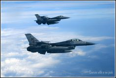 Fighting Falcons from my eye-view