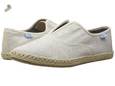 TOMS Women's Palmera Slip-On Natural Yarn-Dye Flat - Toms flats for women (*Amazon Partner-Link)