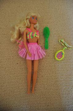 hawaiian fun barbie doll