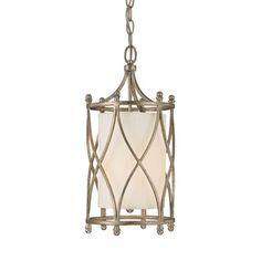 Capital Lighting Fifth Avenue Collection 2-light Winter Gold Mini Pendant