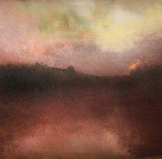 "Maurice Sapiro. ""Infinity"" oil on canvas 20""x20"""
