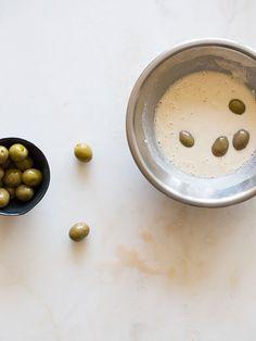 Beer battered fried olive recipe