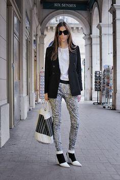Black & White. YES!