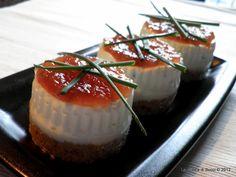 Cheesecake di acciughe
