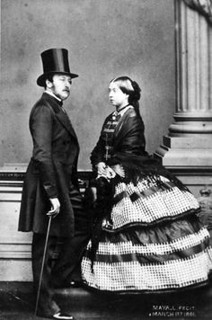 The German Prince Consort Albert and Queen Victoria gave birth to nine children and the concept of Victorianism. The couple drastically altered public ideas about British royalty by cleaning up the scandalous image of the court and replacing it with a homespun one of a couple very much in love, nurturing a large and closely knit family.    Otto Herschan/Getty Images