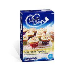 Mini Vanilla Cupcakes | White Wings