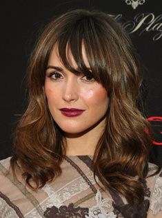 Rose Byrne - Stunning Hairstyle Ideas from Brunette Celebrities  - Photos
