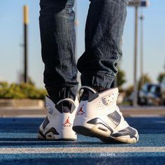 |AJ6 Olympic| Last one and of course booty shot !  by ki2nen #SoleInsider