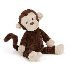 Jellycat Kuscheltier Mumble Monkey Affe - Bonuspunkte sammeln, auf Rechnung bestellen, DHL Blitzlieferung!
