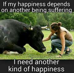 animals, vegan, and happiness image Vegan Facts, Vegan Memes, Vegan Quotes, Vegan Humor, Reasons To Be Vegan, Why Vegan, Vegan Vegetarian, Stop Animal Cruelty, Vegan Animals