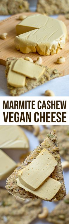 Marmite Cashew Cheese Recipe - Oil-free and heart healthy via @nestandglow