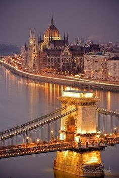 Early evening, Budapest, Hungary