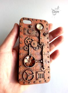 iPhone 5 Case, iPhone 5s Case, Steampunk Case, Steampunk Phone Case