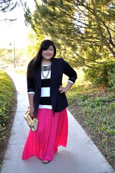 Curvy Girl Chic - Plus Size Fashion and Style Blog - cute and simple, would look great with boots and maybe denhim jacket instead