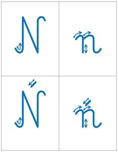 Kierunek kreślenia liter - spółgłoski: B, b C, c Ć, ć D, d F, f G, g H, h J, j K, k L, l Ł, ł M, m N, n Ń, ń P, p R, ... Montessori, Bar Chart, School, Therapy, Bar Graphs