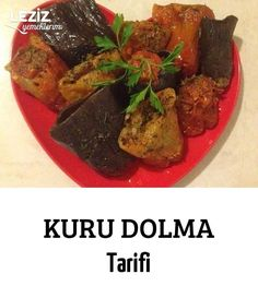 Kuru Dolma Tarifi – Leziz Yemeklerim Sarma ve dolma – The Most Practical and Easy Recipes Salsa, Beef, Vegetables, Food, Drink, Recipes, Meat, Beverage, Salsa Music