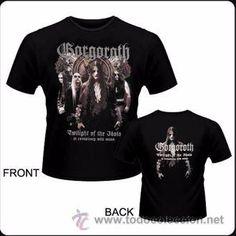 Camiseta de chico M/C del grupo Gorgoroth - Twilight of the Ido - Talla M