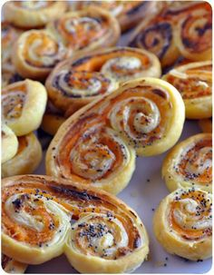 Palmiers au saumon fumé et boursin #palmiers #saumon #boursin #recette #food #recipes