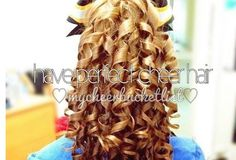 Perfect cheer hair!! :)