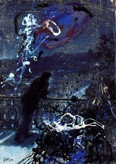 Asger Jorn, Paris by Night, 1959  (Submitted by whatmakespistachionuts)