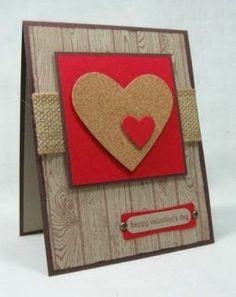 Valentine Homemade Cards 21 #Handmadevalentinescards