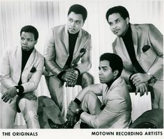 """The Originals, successful Motown R and soul group during the late and the most notable for the hits """"Baby I'm for Real"""", """"The Bells"""" and the disco classic, """"Down to Love Town"""" Soul Music, My Music, Tamla Motown, Soul Singers, Soul Funk, Marvin Gaye, Artist Album, Northern Soul, Popular Music"""