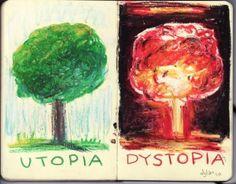 dystopia vs utopia