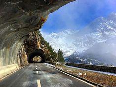 Road to the Susten pass