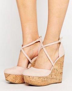 ASOS – ORCHARD – Schuhe mit Keilabsatz