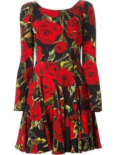 Dolce & Gabbana Vestido Estampado - Profile - Farfetch.com