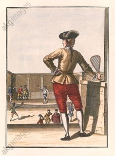 The Tennis Court, 1750, France