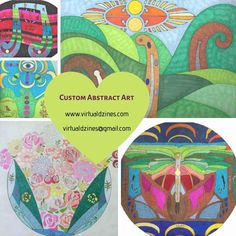 It's that time of year again! Give the unique gift of #CustomArt to your friends & family this holiday. Check out some past creatives and message me for details! #OriginalArt Custom Art, Zine, Friends Family, Unique Gifts, Original Art, Abstract Art, Messages, Creative, Check