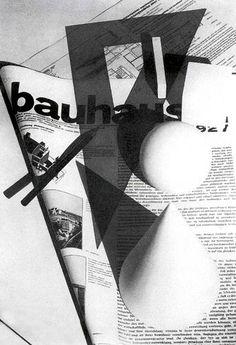 Magazine cover designed by Bauhaus instructor Herbert Bayer 1928.