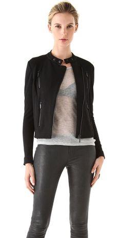 J Brand Ready-to-Wear Amber Biker Jacket