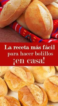 Cocina – Recetas y Consejos Mexican Sweet Breads, Mexican Bread, Mexican Food Recipes, Dessert Recipes, Cooking Bread, Bread Baking, Cooking Bacon, Pan Bread, Snacks