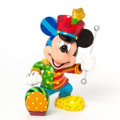 Disney Britto Band Leader Mickey Mouse Large Figurine Available @ Li'l Treasures $94 - Australian Store