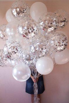 Disco Birthday Party, Birthday Makeup, 16th Birthday, Birthday Balloons, Birthday Parties, Disco Theme Parties, Birthday Ideas, Metallic Balloons, Confetti Balloons
