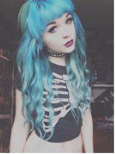 Timeline Photos - Bluehair From Hell