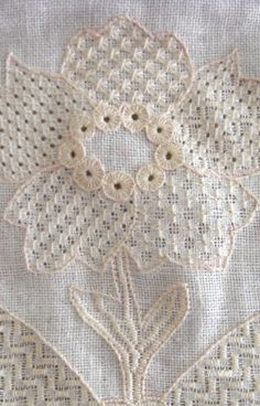 Whitework Embroidery: Tutorial - SAL Centre Motif