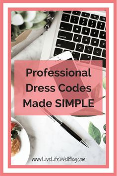 Professional dress codes can be daunting, but I'm making selecting appropriate workplace attire super simple. Check out my tips on LiveLifeWellBlog.com