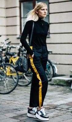 A calça esportiva, ou jogging pants, saiu das academias e foi para as ruas!