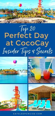 Top 20 Insider Perfect Day at CocoCay Tips and Secrets Royal Caribbean Kids Club, Royal Caribbean Ships, Royal Caribbean International, Royal Caribbean Cruise, Royal Cruise, Bahamas Honeymoon, Bahamas Vacation, Bahamas Cruise, Cruise Vacation