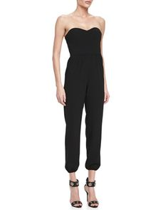 Corset Sweetheart-Neck Sleeveless Jumpsuit by 12th Street by Cynthia Vincent at Neiman Marcus.